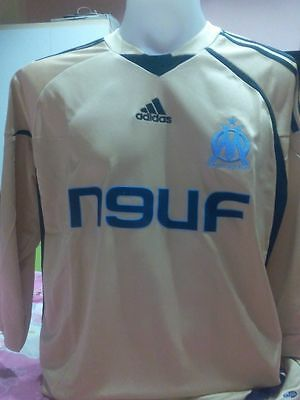 """Marseille Away Soccer Jersey Maillot Size """"m"""""""