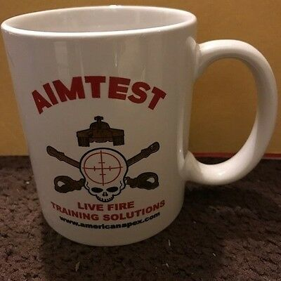 Aimtest Live Fire Training Solutions American Apex Mug FREE SHIPPING to U.S.