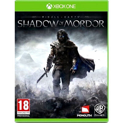 Shadow of Mordor Game Xbox One PAL FREE POSTAGE