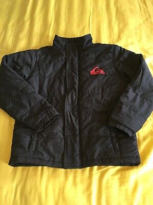 Size 6 Quiksilver Puffer Jacket