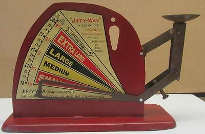 Jiffy Way  Manufacturing Company  Egg Scale