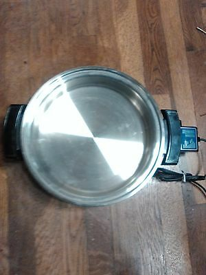 Liquid Core Stainless Steel Elec Skillet (BASE Only)