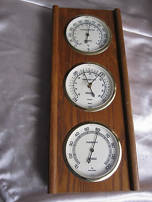 Springfield Thermometer Barometer & Humidity Weather Station