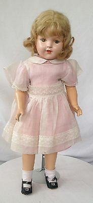 """Composition 22"""" Doll. Princess Elizabeth Look A Like Marked F.D.S. Wow!"""