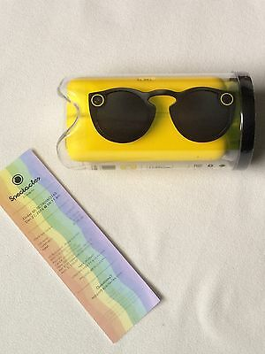 Snapchat Spectacles Black New Unopened/Sealed