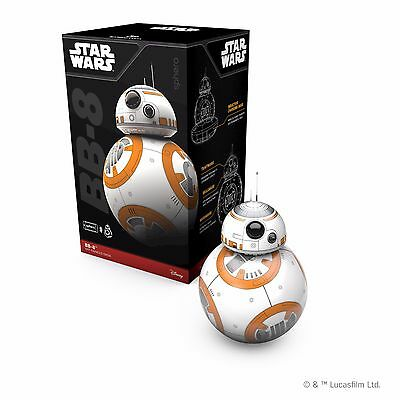 Sphero Star Wars BB-8 App Controlled Robot - FREE SHIPPING - Used ONCE