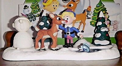 Rudolph Island of Misfit Toys WE'RE A COUPLE OF MISFITS TALKING PLAYSET