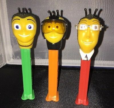 3 Pez Candy Dispensers The Bee Movie