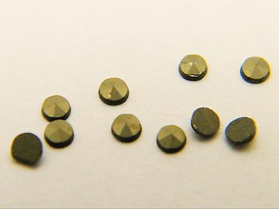 Marcasite Natural Round Loose Stones Machine Cut Polished 0.9mm - 2.3mm 10 Pack