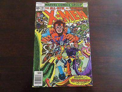 The X-Men #107 (Oct 1977, Marvel) VF 8.0 1st Starjammers