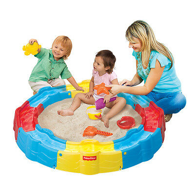 Fisher-Price Build N Play Sand Box - NEW