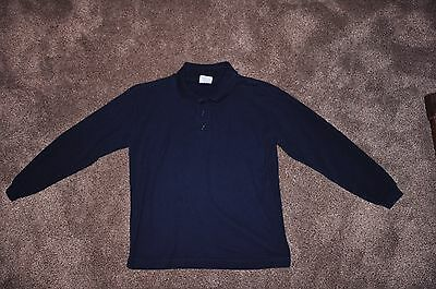 School Uniform Long Sleeved Shirt - Genuine - Size M (10/12).