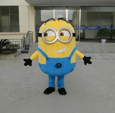 XL Adult Minion Costume,Halloween or just for fun at Birthday Partys