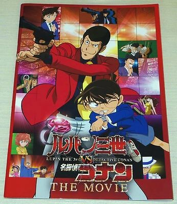Lupin the 3rd vs. Detective Conan The Movie Program Art Book Anime