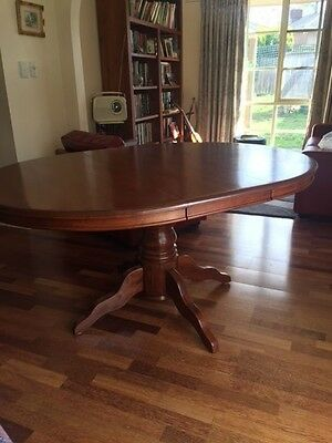 Dining table, Extension, Blackwood - size 1585 x 1220 mm