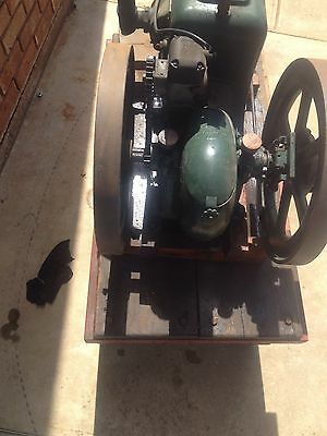 Vintage Stationary Engine Sundial On Trolley Adelaide OFFERS