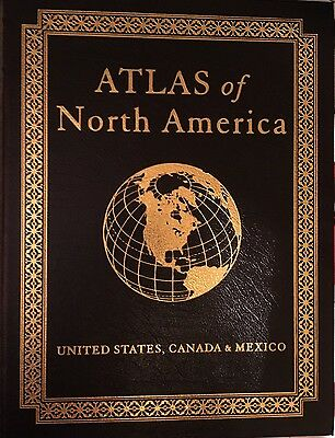 Atlas of North America—Easton Press—Leather Bound