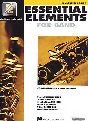Essential Elements for Band Book 1 - Bb Clarinet EE Interactive - 862569  ***NEW