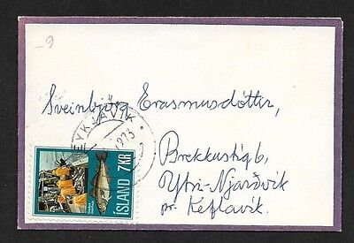 (111cents) Iceland 1973 Cover