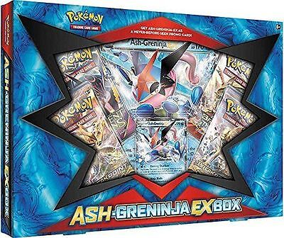 Pokemon Trading Card Game: Ash Greninja Ex Box - Bnisb Ships 25/01