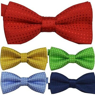 Baby Boy Kids Party Bowtie Silk Satin Bow Tie Formal Shirt Clothes Accessory