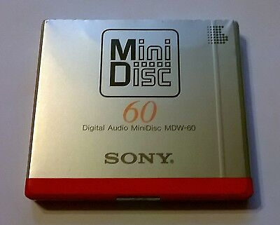 Vintage SONY 'first' MDW-60 - 1992