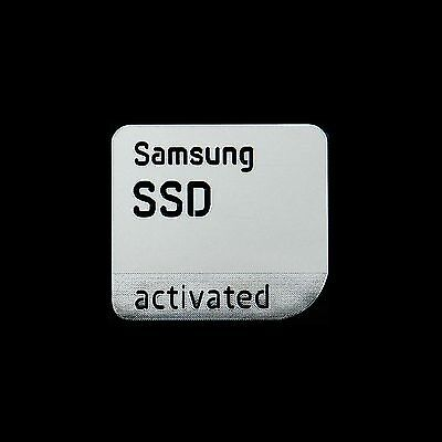 Samsung SSD Activated Metal Decal Sticker Case Computer PC Laptop Sticker