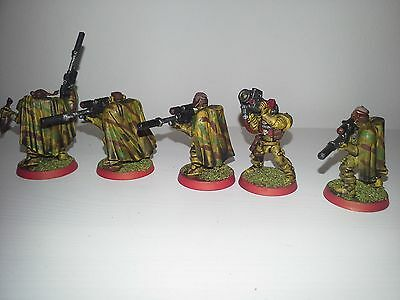 Space Marine Scouts (5) painted