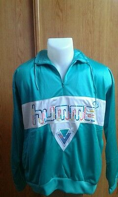 Track Suit Hummel Vintage Original Ends 80. Shiny Smooth Size 40. Perfect Cond.