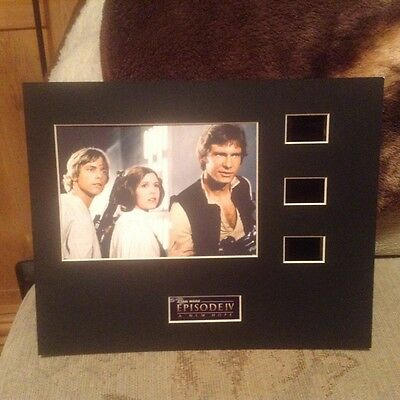 star wars a new hope 10 x 8 film cell display