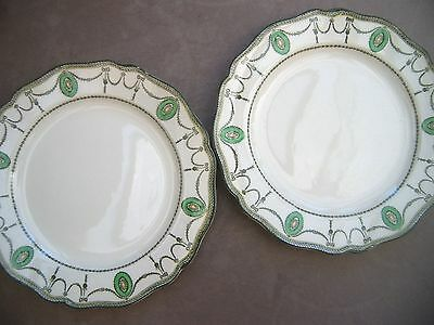 Two Royal Doulton Countess Sideplates 523784 D2802 21cms  (8.5ins) approx