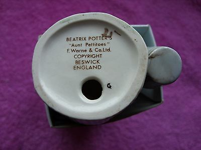 "Beswick Beatrix Potter "" Aunt Pettitoes BP3a "" excellent condition"
