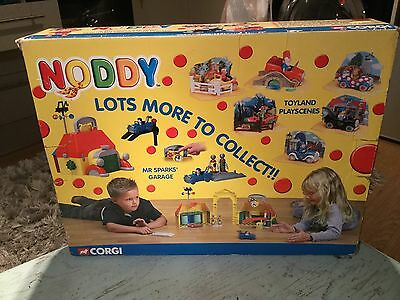Noddy Rare 4 Toy land Cars Figures And Play at Mint In Box