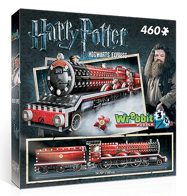 3D Puzzle - Harry Potter - Hogwarts Express, 460 Teile, Rowling, Wrebbit
