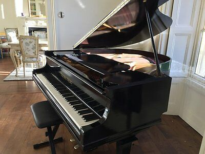 Black High Gloss Baby Grand Piano