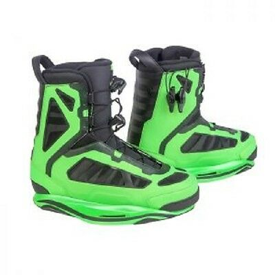 RONIX PARKS WAKEBOARD BOOT - SIZE 11 BRAND NEW 2016-Irredescent Lime