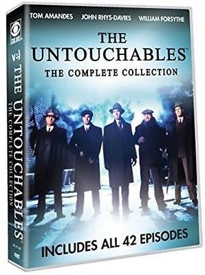 THE UNTOUCHABLES - THE COMPLETE TV SERIES COLLECTION - DVD - Region 1 Sealed