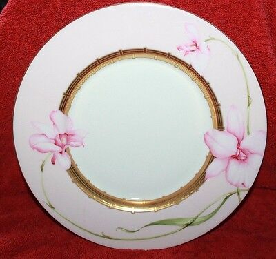 """Minton ~ Orchid ~ 10.8"""" Dinner Plate ~ Humming Bird ~ First Quality"""