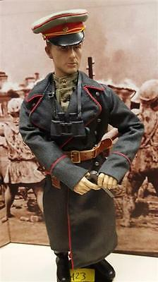 1/6 unknown Russian Officer w Leather Boots & Holster WWII- Unique! -  (Figure S