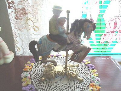 Tobin Fraley American Carousel Collection, Father & Son, 1988,  # 207/17500