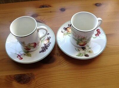 st michael ashberry 2 coffee cups and saucers