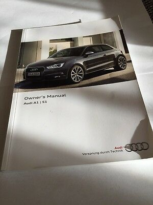 Audi A1 /S1 Owners Manual 2015-2016
