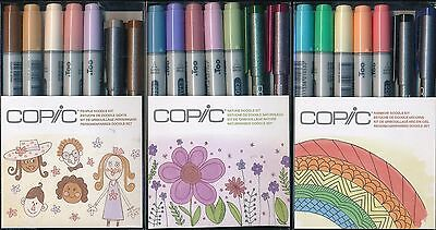 COPIC Doodle Kit NEW Rainbow Nature People Doodle Kit NEW made in Japan
