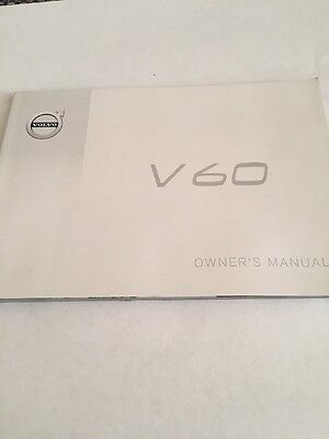 Volvo V60 Owners Manual 2013-2016