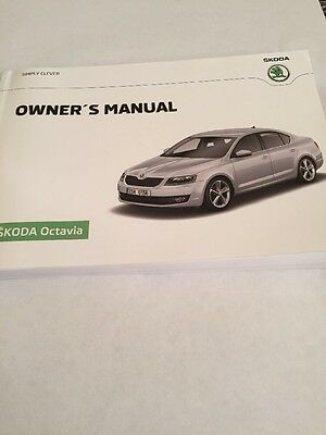 Skoda Octavia Owners Manual 2013-2016