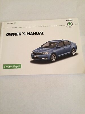 Skoda Rapid Owners Manual 2013-2016