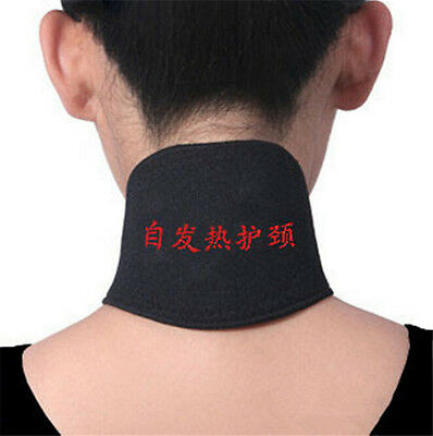 2 PCS Magnetic Therapy Neck Spontaneous Heating Headache Belt Neck Massager FO