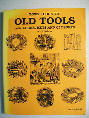 VINTAGE TOOLS PRICE GUIDE BOOK Blacksmith Planes Hand drills Saws Levels Farming