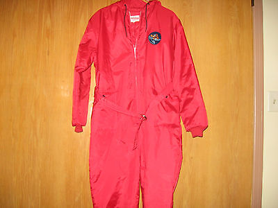 Rare Vintage 60's Sno Mo Beeler by Wonderalls Snowmobile Suit NOS Size Large
