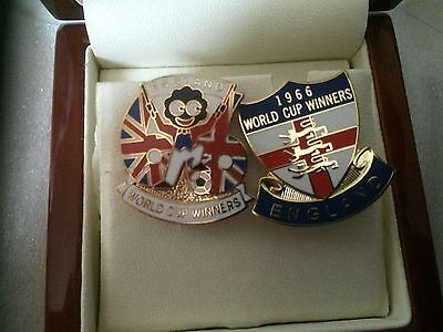 England 1966 World Cup Badges